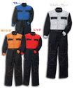 KR550 高耐久厚手素材 ツートンつなぎ服