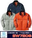 SW7206 エコ素材防寒コート
