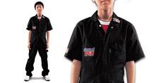 KR608S 半袖キッズつなぎ服
