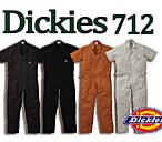 712 ディッキーズ半袖つなぎ