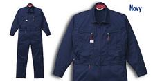 A6900 腰割れ式つなぎ服