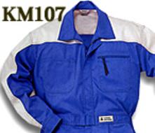KM107 ツートンツナギ服