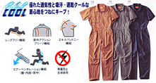 RO-118 半袖ツナギ服