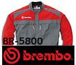 BR-5800 ブレンボ長袖メカニックスーツ