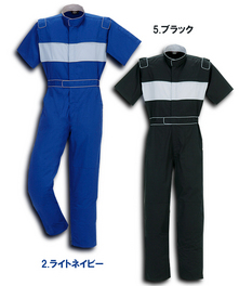 757 半袖ツナギ服