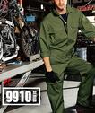 SOWA9910 カーゴポケット付き長袖ツナギ服