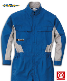 RO710 長袖つなぎ服